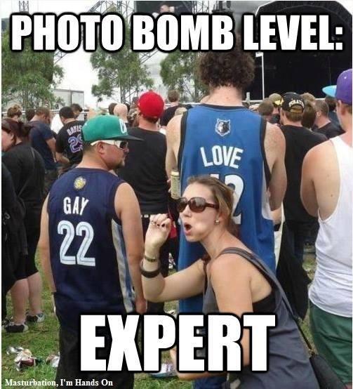 PHOTO BOMB LEVEL EXPERT