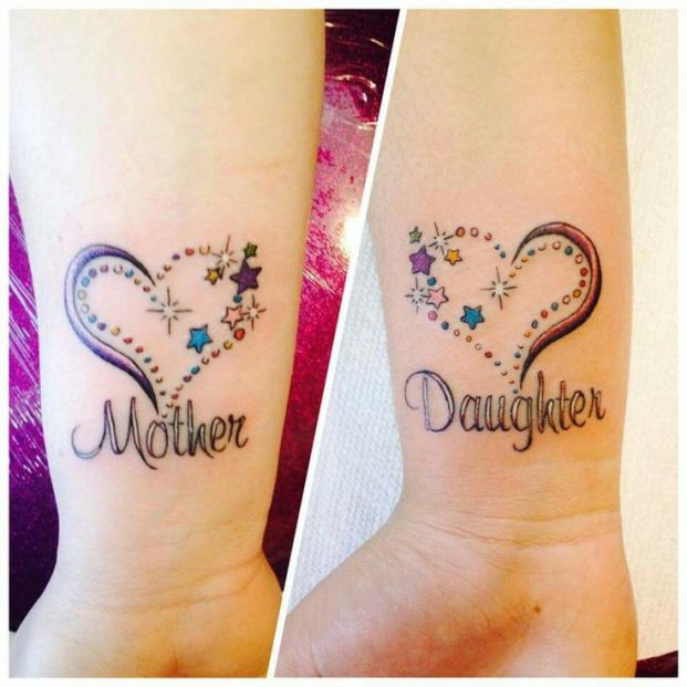 Mother – Daughter Tattoos That Show A Real Connection | MiHO